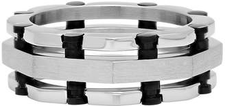MODERN BRIDE Mens Stainless Steel Wedding Band