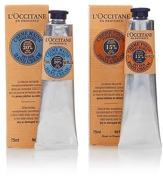 L'Occitane Shea Butter Hand & Foot Cream Duo