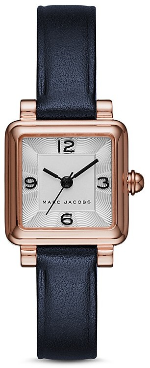 Marc Jacobs MARC JACOBS Vic Leather Watch, 20mm x 20mm