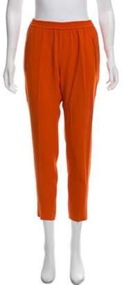 Stella McCartney Mid-Rise Skinny Joggers Orange Mid-Rise Skinny Joggers