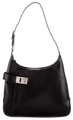 Salvatore Ferragamo Small Leather Shoulder Bag