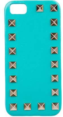 Valentino Rockstud Leather iPhone Case