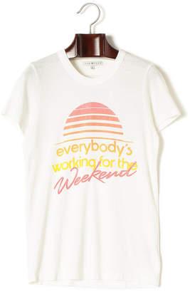 Junk Food Clothing (ジャンクフード) - JUNK FOOD グラフィック プリント クルーネック 半袖Tシャツ ホワイト s