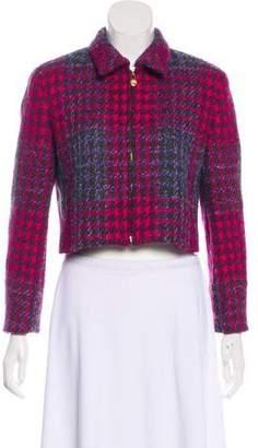 Burberry Vintage Wool Crop Jacket