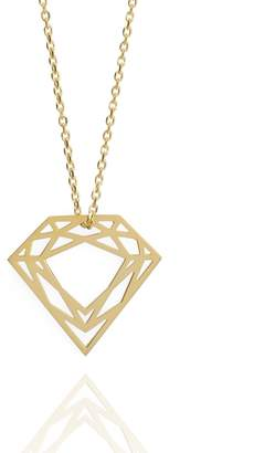Myia Bonner Gold Classic Diamond Necklace