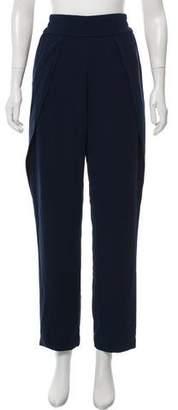 Jonathan Simkhai Pleated High-Rise Straight-Leg Pants w/ Tags