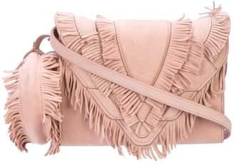 Elena Ghisellini fringe crossbody bag