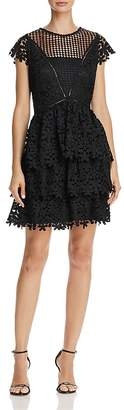 Aqua Tiered Lace Dress - 100% Exclusive