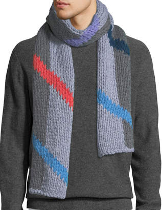 Mens Knit Scarf Shopstyle