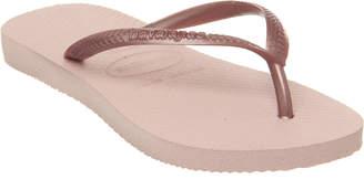 fac6d6b08463 Havaianas Slim Fashion Kids Flip Flops Ballet Rose