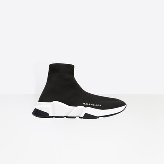 Balenciaga Trainer with white and black textured sole