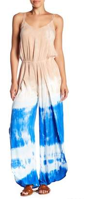Young Fabulous & Broke YFB by Palms Tie-Dye Wide Leg Jumpsuit