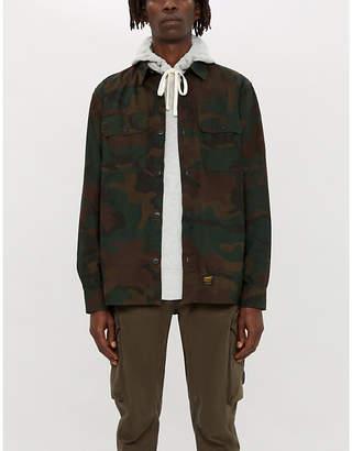 Carhartt Wip Mission camo-print regular-fit cotton shirt