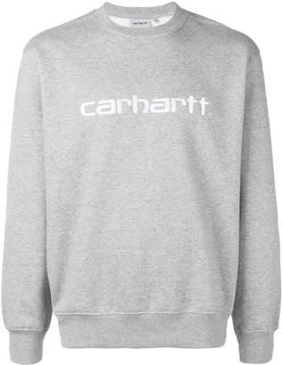 Carhartt Heritage logo embroidered sweatshirt