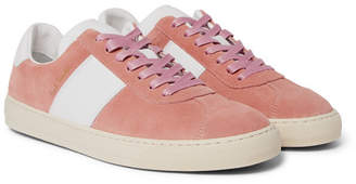 Paul Smith Levon Suede And Leather Sneakers
