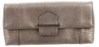 Reed Krakoff Embossed Standard Clutch Metallic Embossed Standard Clutch