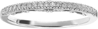 Vera Wang Simply Vera 14k White Gold 1/10-ct. T.W. Diamond Wedding Ring