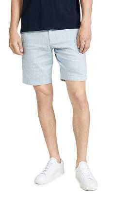 Club Monaco Maddox Chambray Shorts