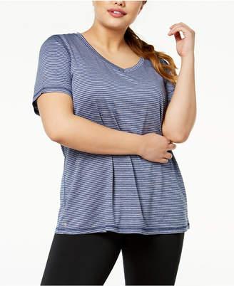 Ideology Plus Size Striped T-Shirt