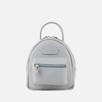 Grafea Women's Mini Zippy Backpack - Grey