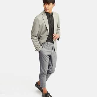 Uniqlo Men's Ezy Ankle-length Pants (glen Checked)