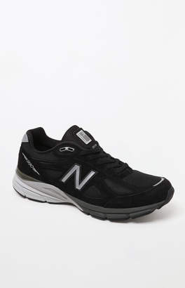 New Balance 990v4 Made in USBlack & Silver Shoes
