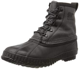 Sorel Men's Cheyanne Ii Short CVS Snow Boots, Black, 42.5 EU