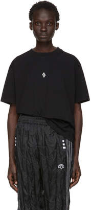 Marcelo Burlon County of Milan Black Heart Wings T-Shirt