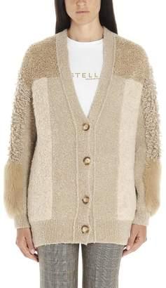 Stella McCartney Fur Trim Cardigan