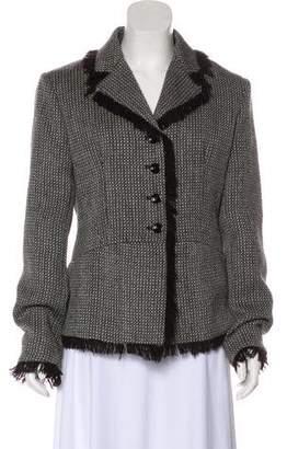 Aquilano Rimondi Aquilano.Rimondi Virgin Wool Tweed Blazer