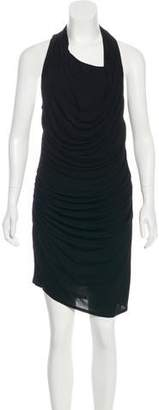 Helmut Lang Scoop Neck Sleeveless Dress