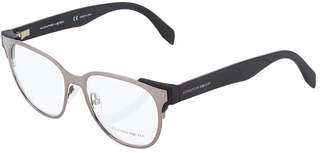 Alexander McQueen Round Metal Optical Glasses
