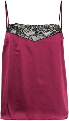 Etro lace trimmed slip top