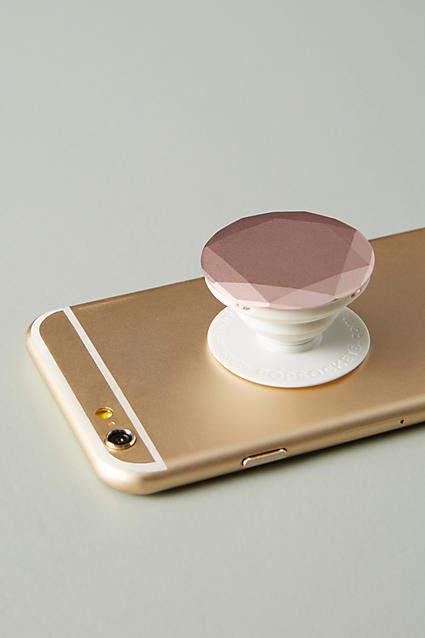 Anthropologie PopSocket Diamond Phone Accessory
