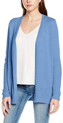 Vila CLOTHES Women's VISHARE Open Knit Cardigan-NOOS Cardigan, Pink (Rose Dawn), (Manufacturer Size: Large)