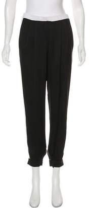 Vionnet High-Rise Skinny Pants