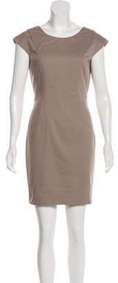 Andrew Marc Cap Sleeve Mini Dress