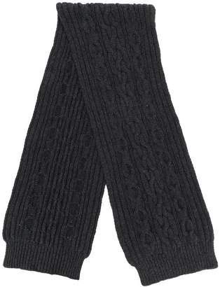 Pringle Aran cable knitted scarf