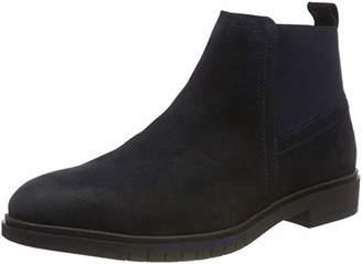 4e21403ffa87b0 Tommy Hilfiger Men s Flexible Dressy Suede Chelsea Boots