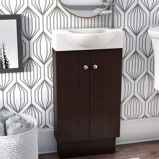 "KNOTT Zipcode Design 17"" Single Bathroom Vanity Set Base"