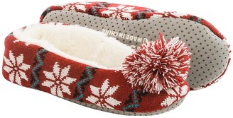 Life is good® Holiday Knit Ballet Slippers (For Women) $12.99 thestylecure.com