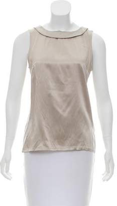Wayne Silk Satin Top