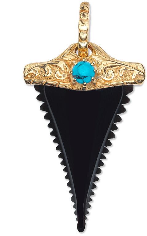GucciHorn shark tooth charm