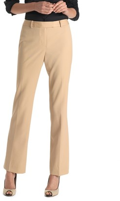Brooks Brothers Plain-Front Caroline Fit Gabardine Trousers