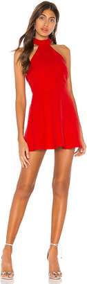 superdown Sela Halter Mini Dress