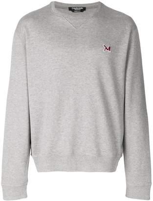 Calvin Klein Brooke Shields embroidered logo sweatshirt