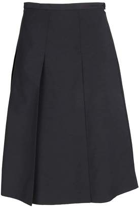 Rochas Pleated Mini Skirt