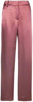 Sies Marjan metallic straight-leg trousers