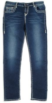 True Religion Girl's Casey Natural Slim-Fit Jeans $129 thestylecure.com