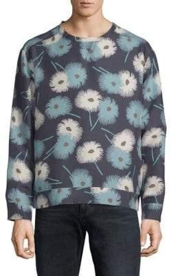 Valentino Printed Silk Sweatshirt